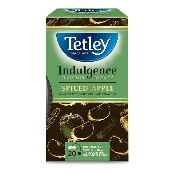 【Tetley】Spiced Apple Tea Teabags テトリー スパイスアップル ティーバック紅茶