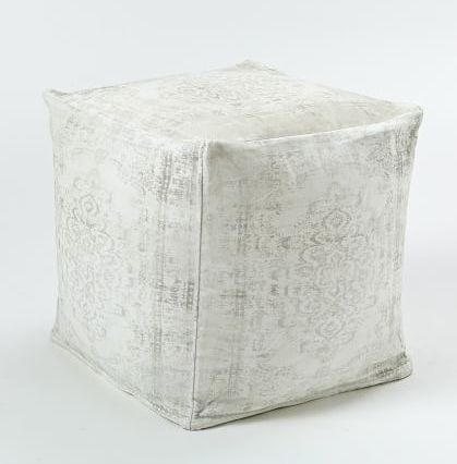 Arabesque Pouf - West Elm