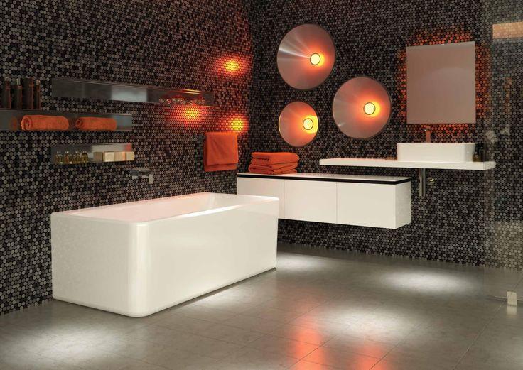 Caroma Cube Wallfaced Bath