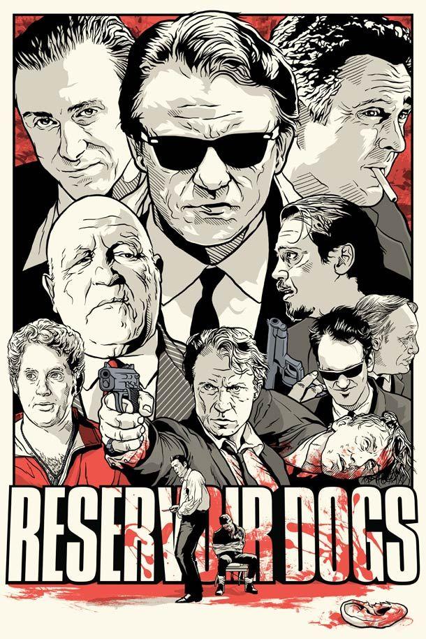 15 superbes posters de films cultes par Joshua Budich | Ufunk.net