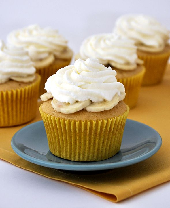 banana cream cupcakes banana cream pies cupcake ideas cupcake recipes ...