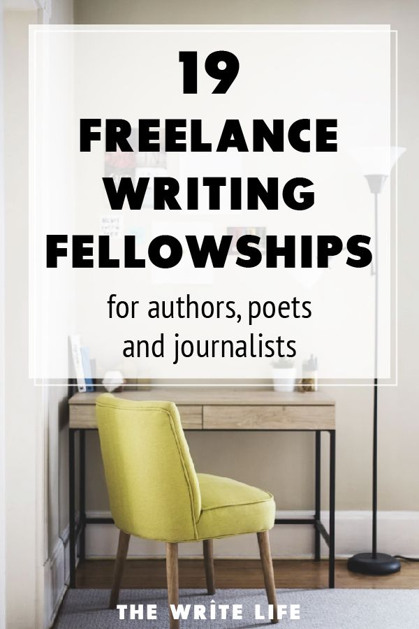 Get Paid To Write 17 Fantastic Writing Fellowships For Authors