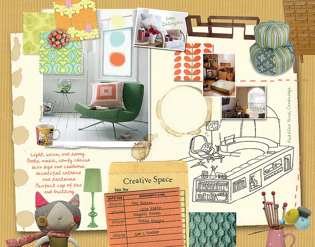 178 best great examples of mood boards images on pinterest for Interior design concept package