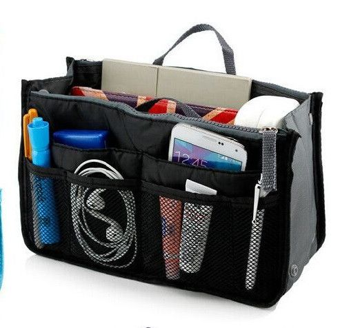 """""""Bag In Bag"""" All Purpose Multi-Pocket Expandable Tote - 5 Colors to Choose!"""