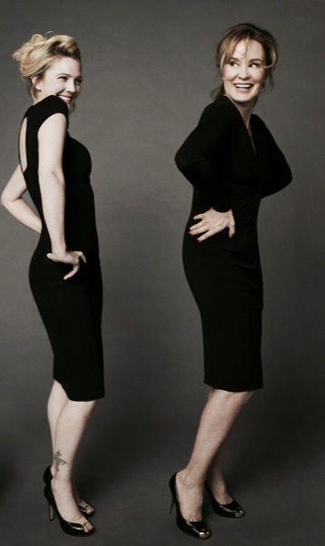 Drew Barrymore and Jessica Lange: Grey Garden film cast