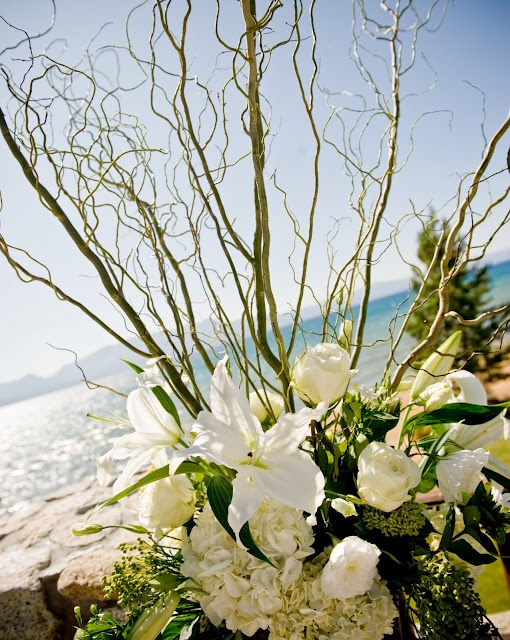 Schue Love wedding centerpieces