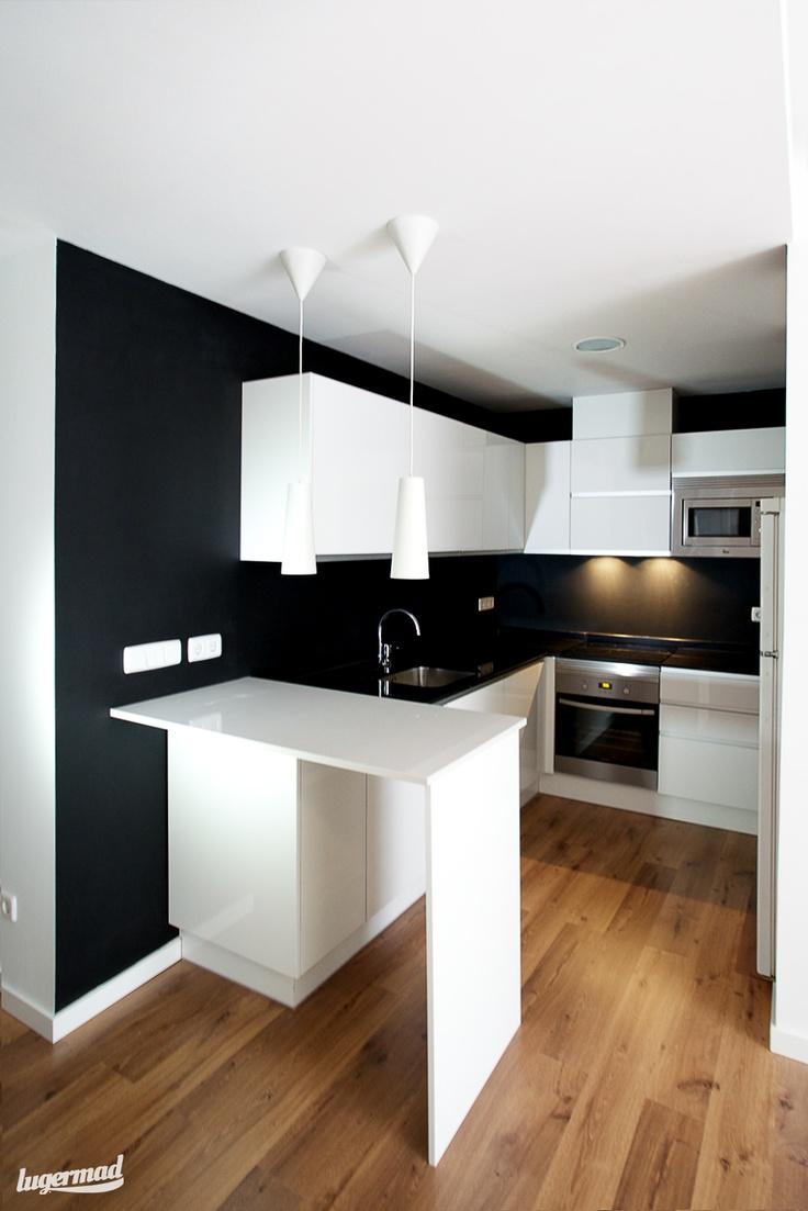 decoracion moderno cocina mobiliario de cocina lamparas griferia