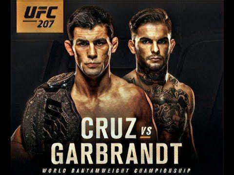 MMA UFC 207: Dominick Cruz vs Cody Garbrandt for bantamweight title