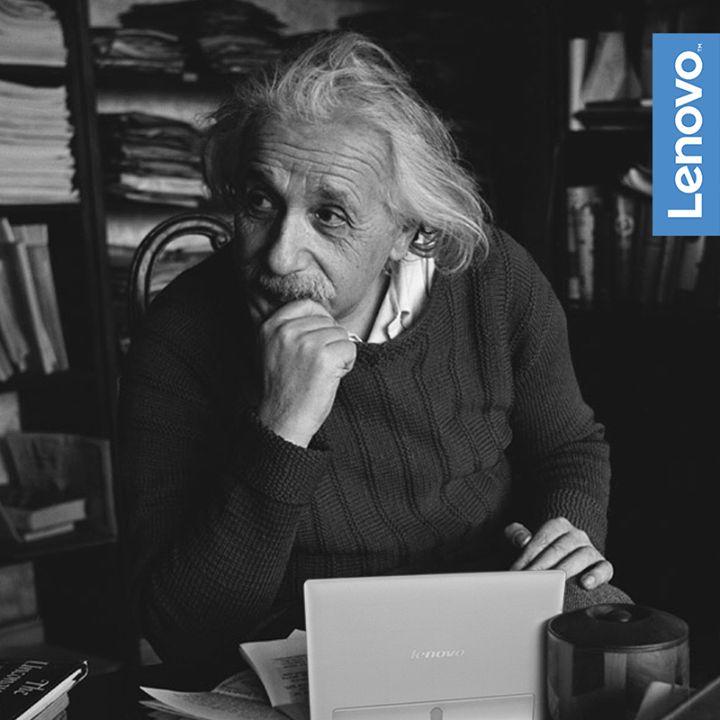 """""""La logica ti porta da A a B. L'immaginazione ti porta ovunque"""". #AlbertEinstein #NeverStandStill"""