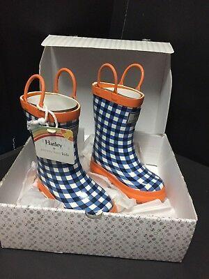 Sz 8 Pottery Barn Kids Hatley Rubber Rain Snow Boot