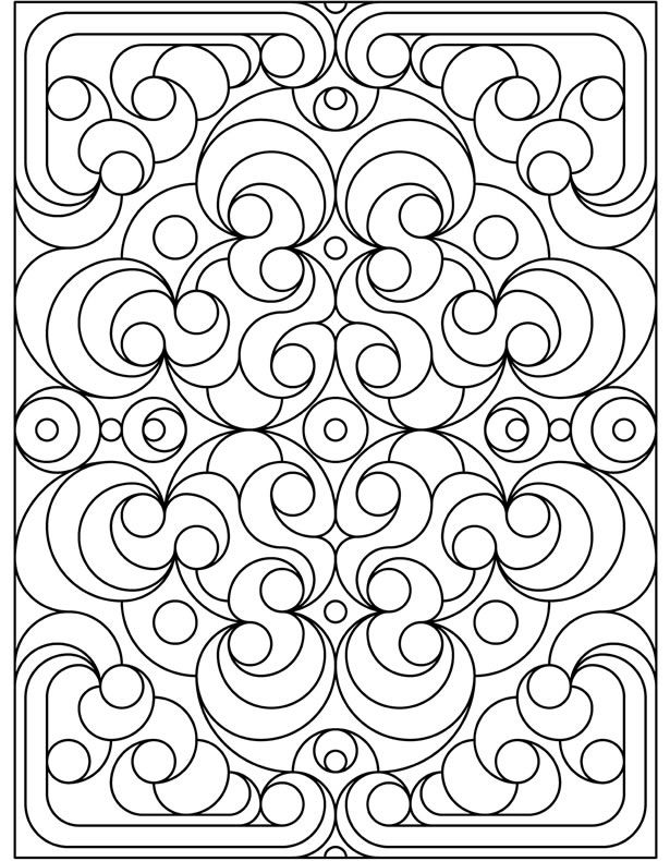 coloring designs pages - photo#18