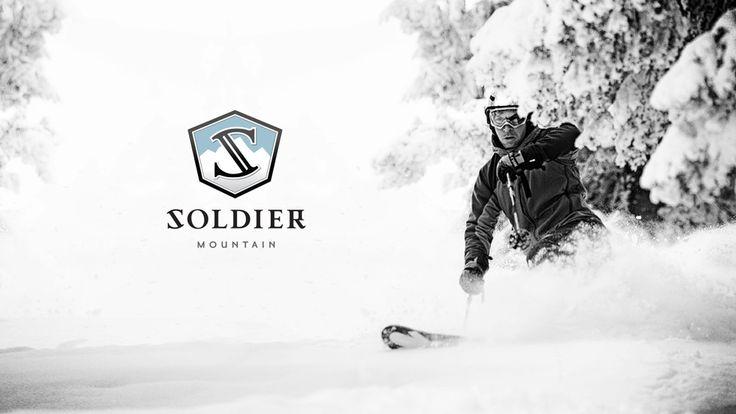 Soldier Mountain Ski Resort branding - SOVRN Creative, Boise, Idaho
