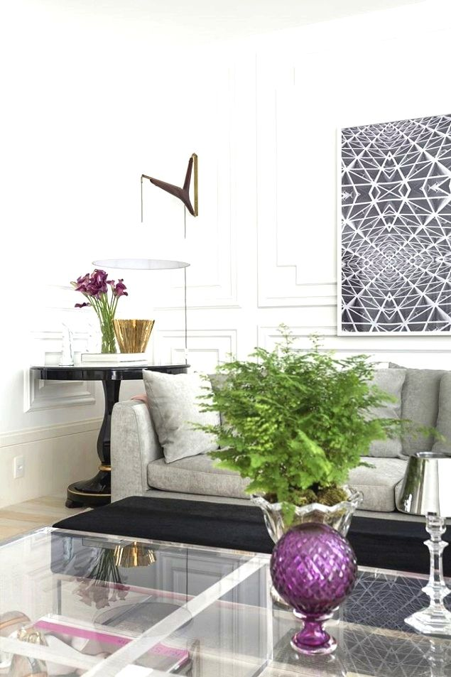 Living room decor Using items which have two purposes may help you
