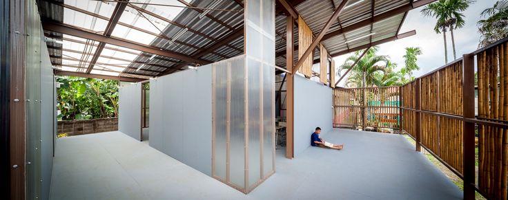 Junsekino, Spaceshift Studio · Baan Nong Bua School · Divisare