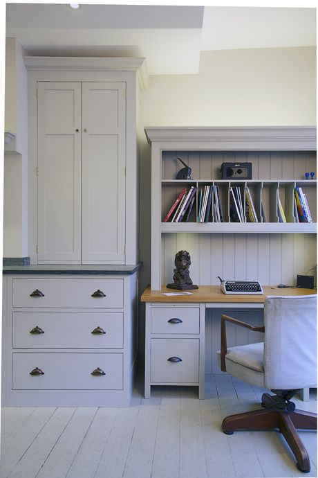 hand painted bespoke office furniture