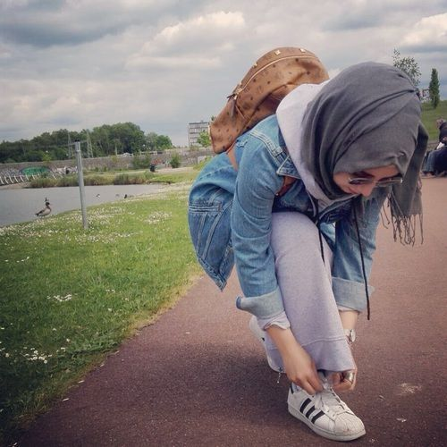 รูปภาพ hijabstyle, hijabfashion, and hijabmode