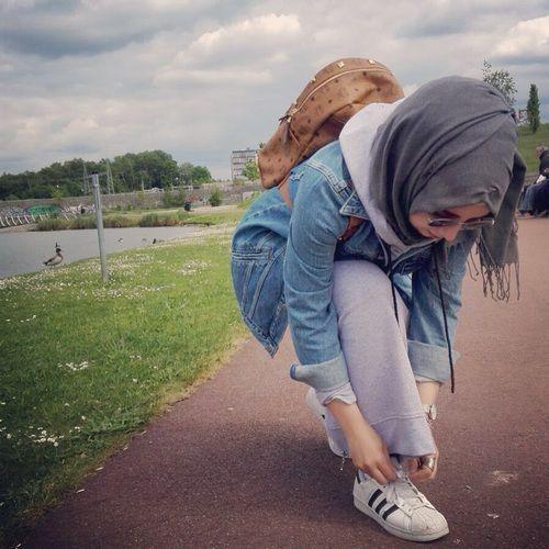 รูปภาพ hijabstyle, hijabfashion, and hijabmode