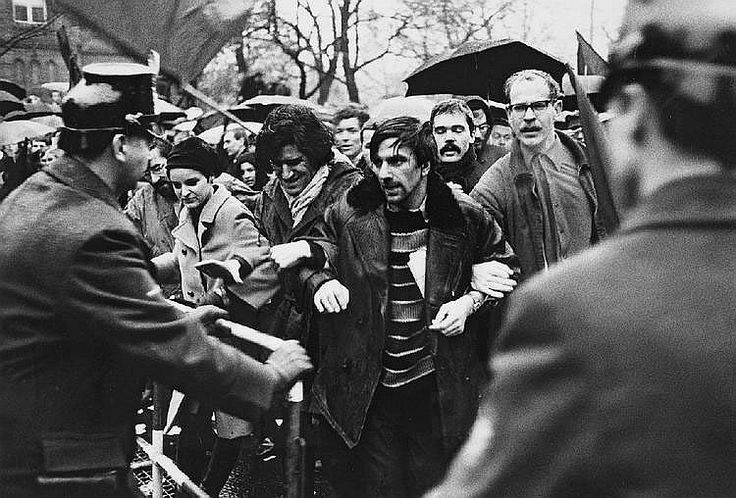 Michael Ruetz. Rudi Dutschke and Gaston Salvatore, 27th November 1967  [::SemAp FB || SemAp G+::]