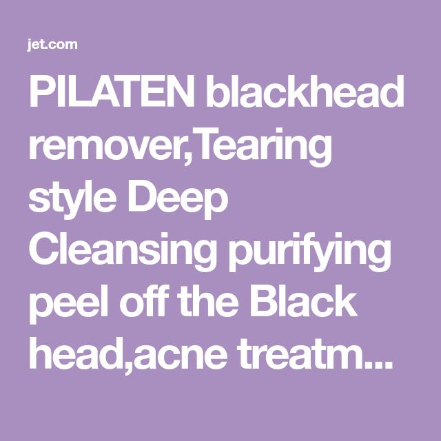PILATEN blackhead remover,Tearing style Deep Cleansing purifying peel off the Black head,acne treatment,black mud face mask 60g | Jet.com