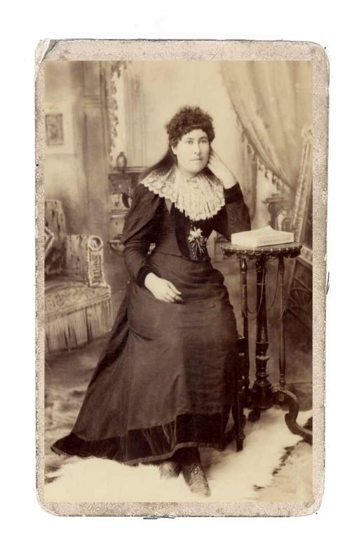 Ned Kelly's order sister Maggie. Officially Mrs.William Skillion. At the time of the Kelly uprising she was living in a common law marriage with Tom Lloyd.