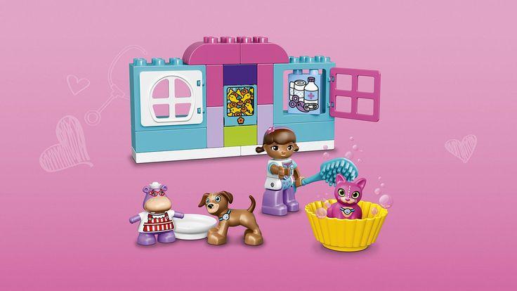 10828 Clínica veterinaria de la Doctora Juguetes - Productos - DUPLO LEGO.com