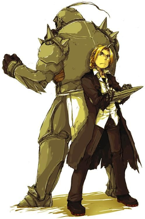 Image result for Edward and Alphonse Elric pinterest