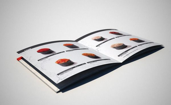 Tochka sushi by Marat, via Behance