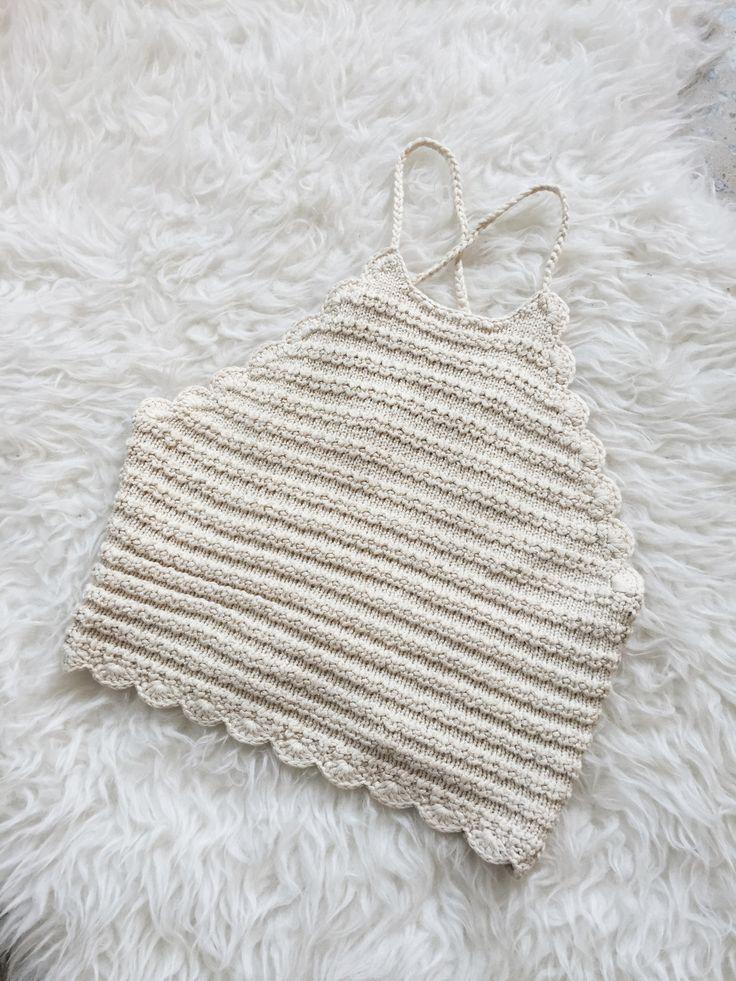 Quarter Moon Crochet Crop Top