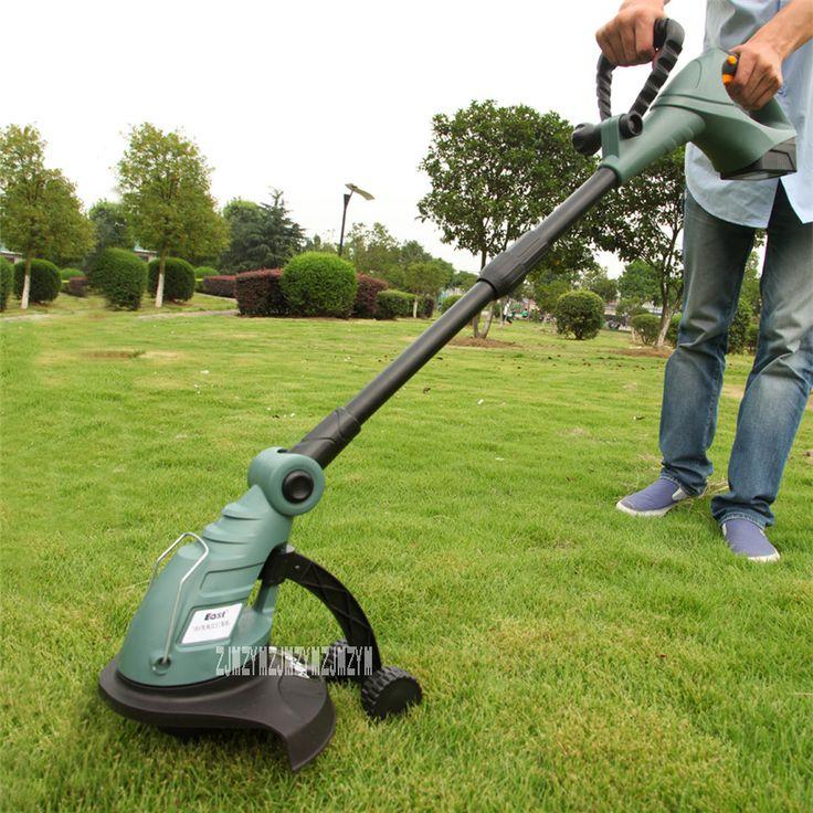 New Arrival Electric Weeding Machine 18V Rechargeable Lawn Mower Cutting Machine Electric Home Lawn Mower ET2803 8000 r/min Hot
