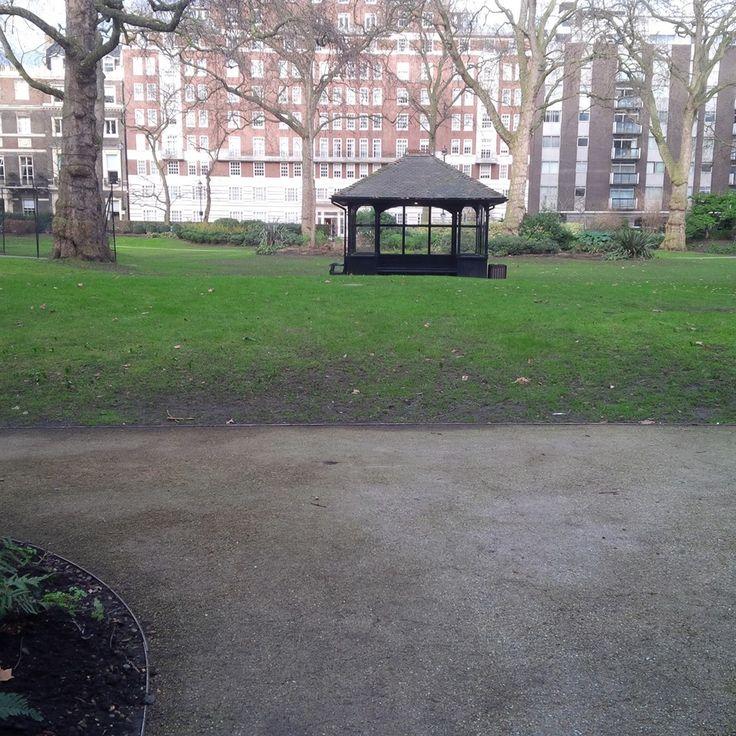 Portman Square in Marylebone, Greater London