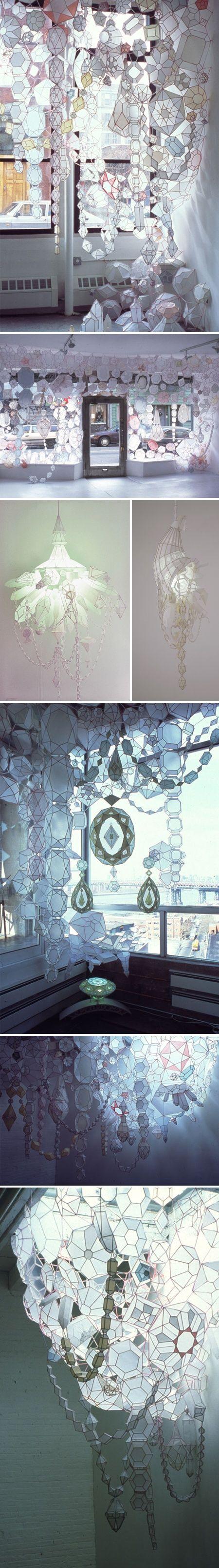 paper/mixed media installation artist Kirsten Hassenfeld