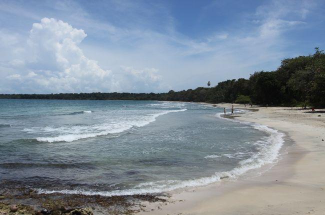 playa blanca cahuita front   - Costa Rica