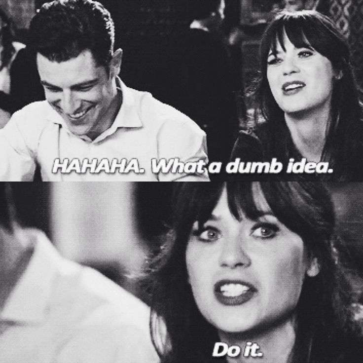 New Girl. I say these same words all too often