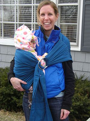 Maya Wrap Lightly Padded Sling  You know that a baby carrier is a new-mom must-have, with magical baby-soothing powers and the ability to gi...