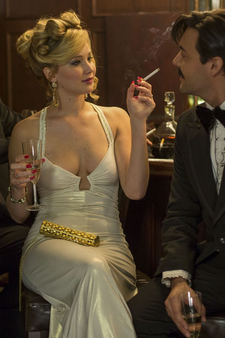 Jennifer Lawrence and Jack Huston in American Hustle, 2013                                                                                                                                                                                 Plus