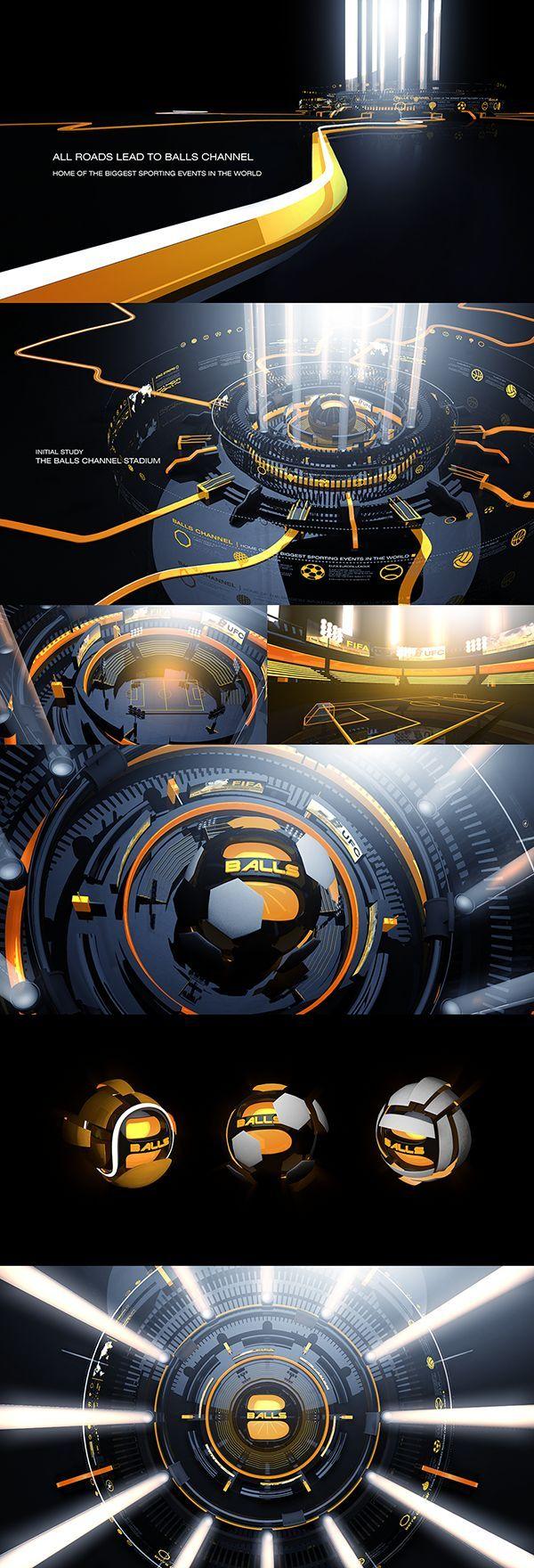 Balls Channel Re-Imaging 2014 on Behance: