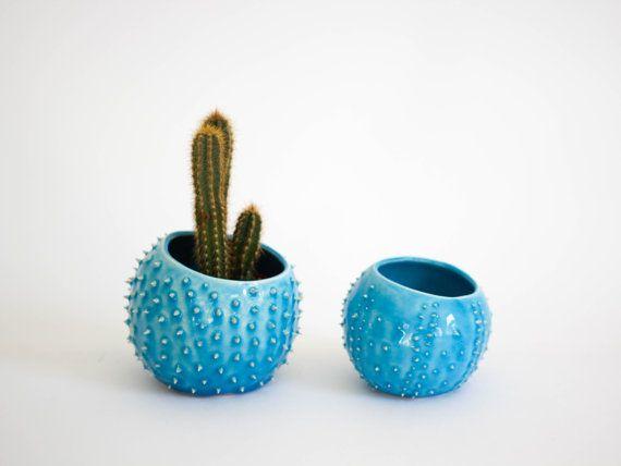 Ceramic planter/ air planter/ succulent planter/ by OlisCupboard