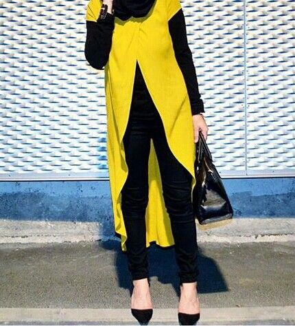 yellow and black..