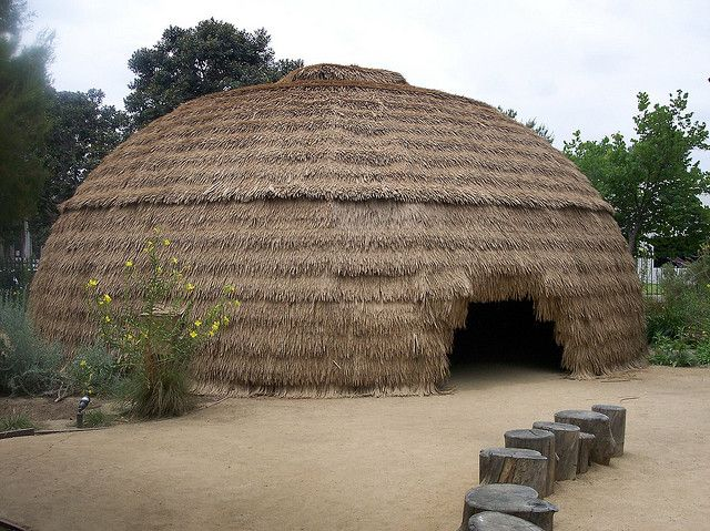 Tongva Indian Large Hut | Santa Fe Springs, CA