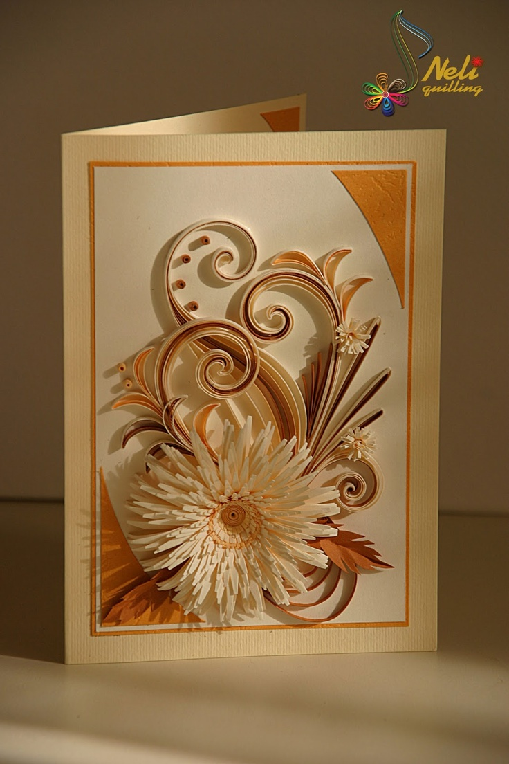 neli: Quilling card