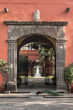 Hacienda Galindo near Queretaro, Mexico. A step back in time and this traveler's dream come true!