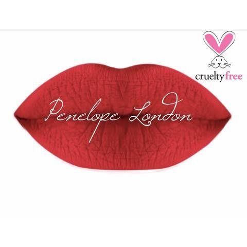 Penelope London Cosmetics Matte Liquid Lipstick in the color Do the Hustle