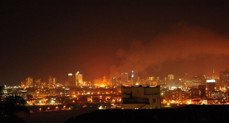 Fire across Durban. www.ducklingphotography.blogspot.com