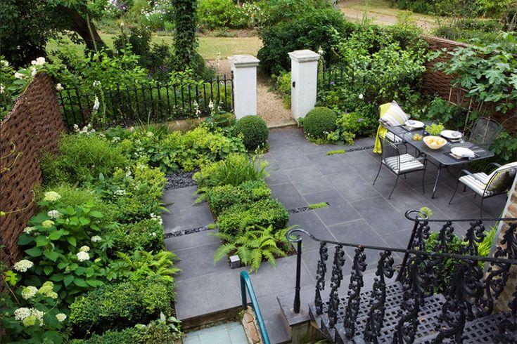 Классический миниатюрный сад
