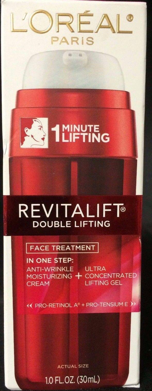Loreal Revitalift Double Lifting Face Treatment  Anti-Wrinkle  1 oz/ 30 ml