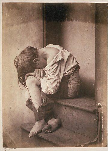 Oscar Rejlander.  Night in Town.  c. 1860.