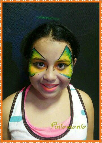 Mariposa face paint