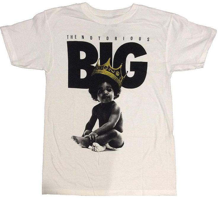 The Notorious Big Baby King Ready to Die Brooklyn Mint T Shirt Sizes M L XL   eBay