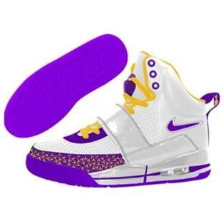 Air Yeezy Kids, Icy Shoes, Shoes White, Cool Cute Shoes, Purple Yellow, White Blue, Kids Air, Yeezy Shoes, Shoe Game
