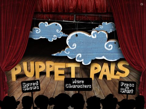 Puppet Pals HD is an easy to use iPad app that lets the user create easy animated movies. Just go ahead and spring for the $2.99 Director's Pass, it is a great value as it includes all the character sets.